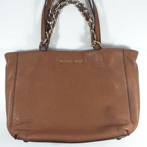 Michael Kors Brown Leather Purse Tablet Sleeve
